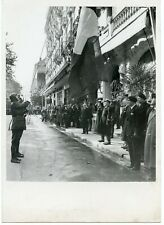 PHOTO // RELEVE DE LA GARDE DU MARECHAL 1943 // PETAIN
