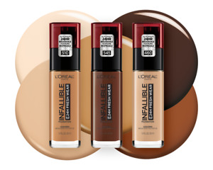 L'Oreal Infallible 24 Hr Fresh Wear Foundation CHOOSE YOUR SHADE New Expired
