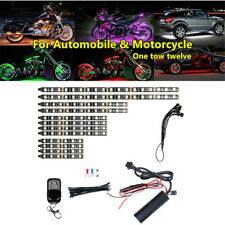 50W Car ATV One Tow Twelve Chassis Atmosphere Lamp Bar RGB Decorative Universal