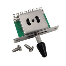 New One 5 Way Guitar Switch Strat Squier Style Guitar Pickup Selector Switch