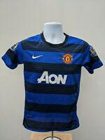 Nike Wayne Rooney #10 Manchester United Away 2011 Football Shirt Boys YL
