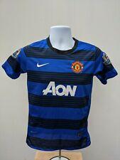 Nike Wayne Rooney #10 Manchester United Away 2011 Football Shirt Boys YL