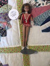 Vintage Mattel Skipper Doll With Stand