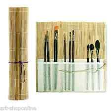 Artistes' Bambou Peinture Pinceau Rouleau Crayon et Stylo Enveloppement 28cm x