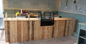 Handcrafted Counter Rustic Industrial Bar Cafe Office Coffee Shop Restaurant