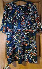 Floral Dress (Papaya - Size 18)