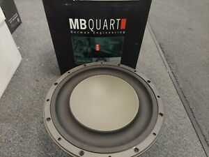 """BRAND NEW OLD SCHOOL 10"""" MB QUART PWE252 MADE IN USA BY ROCKFORD FOSGATE"""