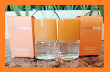 CLINIQUE HAPPY Perfume Spray Parfum Fragrance TRAVEL SIZE New > 0.14 oz ~ 2 PACK