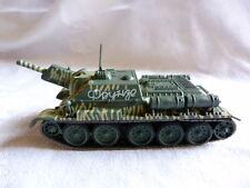 Tank char blindé  2ème guerre mondiale - A identifier -  SU 122 Koursk 1943