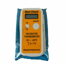 New Brinsea Spot Check - Incubator Thermometer-  Brinsea Probe - Hatching Eggs