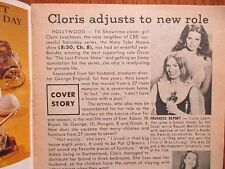 June 9, 1972 Cleveland Press TV Showtime   (CLORIS  LEACHMAN/IAN  OGILVY/LASSIE)