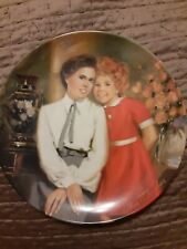 Annie and Grace Little Orphan Annie Collector Plate 3rd issue 1983
