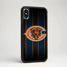 Chicago Bears Football Team Soft Silicone Phone Cover Case for iPhone Samsung
