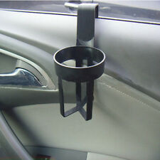 Universal Black Vehicle Car Truck Door Mount Drink Bottle Cup Holder Stander