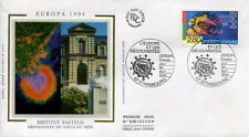 FRANCE FDC - 2878 1 EUROPA PASTEUR - STRASBOURG 30 Avril 1994 - LUXE sur soie