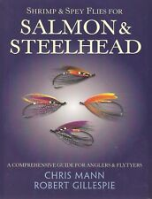 MANN CHRIS FLYTYING & FISHING BOOK SHRIMP & SPEY FLIES FOR SALMON hardback NEW