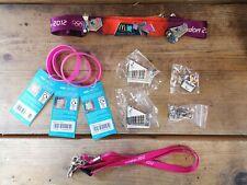 Recuerdos De 2012 Juegos Olímpicos de Londres Pin insignias, muñeca Bandas & acolladores