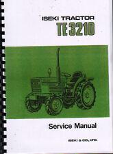 "Iseki ""TE 3210"" Tractor Service Workshop Manual"