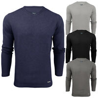 Mens V Neck Jumper Stallion Knitwear Sweaters Top Pullover Knitted Jacket New