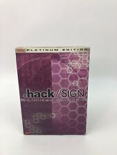 .hack SIGN Ver. 06: Terminus (DVD, 2004, 2-Disc Set, Limited Edition)