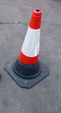 Heavy Duty Self pondérée 750 mm trafic routier cône (Palette de charge de 50 cônes)