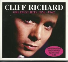 CLIFF RICHARD GREATEST HITS 1958 - 1962 - 2 CD BOX SET- THE YOUNG ONES & MORE