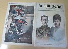 Le petit journal 1892 N°59 Mariage Albert Victor de Galles Princesse de Teck