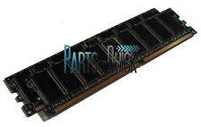 2GB 2x 1GB PC3200 DDR 400 MHz  Non ECC 184 pin Low Density  DIMM RAM Memory