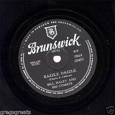 """BILL HALEY 198cm BRINGE DAZZLE / Two HOUND CHIENS """" Argent uk brunswick 05453 EX"""