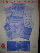 THE FOOTBALL PROGRAMME DIRECTORY APRIL 1985 No 125