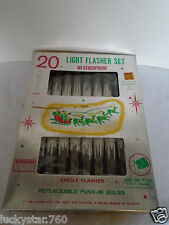 Vintage 20 Ice Cycle Light Flasher Set