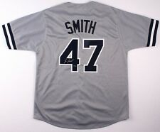 Lee Smith Signed Yankees Jersey (Leaf COA) 478 MLB Saves   Hall of Fame aa2a24d75