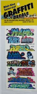 Blair Line 2259 Mega Set 10 Graffiti Decals Spur H0 1:87 Laser cut Decal