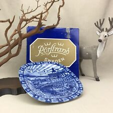 Rorstrand Sweden Julen 1987 Limited Edition Jultallrik Christmas Plate in Box