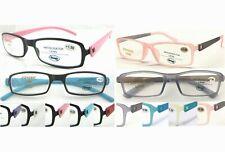 Popular Multi Color Gafas de Lectura/marco ligero/Plain o Mate Gel de Color