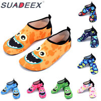 Boys Girls Kids Water Shoes Quick Dry Beach Swim Sports Aqua Shoes Pool Surfing
