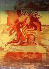 """Deutsche pop art di 1972: pressione firmati """"Krunch"""" di LWD-Productions Berlino."""