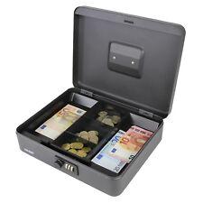 Geldkassette 30 Cm Zahlenkombinationsschloss Silber