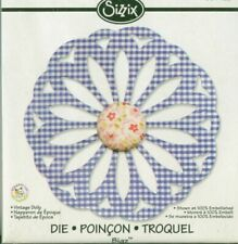 Sizzix Bigz Cutting Die 657420 Vintage Doily designed by Scrappy Cat RARE