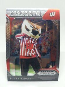 2019 Panini Prizm Draft Picks Bucky Badger #78 Wisconsin Badgers Mascot