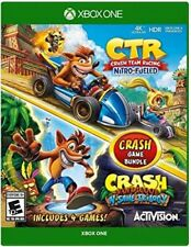 BUNDLE CRASH : Team Racing: Nitro-Fueled + N.SANE (Xbox One) No Cd/key