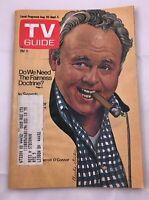 1975 TV Guide August 30  Carroll O'Connor Archie Bunker  MASH Pitt Vintage