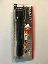 MagLite ST2D016 2D Cell Flashlight 3 Watt LED Brand New Sealed