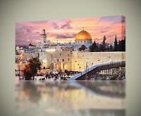 JERUSALEM The Holy City CANVAS PRINT Wall Art Home Decor Giclee *4 Sizes* CA94