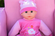 """LARGE INTERACTIVE 16 SOUNDS LOVELY 16"""" AMERICAN PHILIP BABY BOY DOLL VINYL 40CM"""