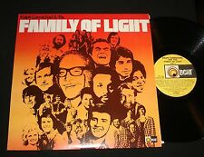 RALPH CARMICHAEL & THE FAMILY OF LIGHT  CHRISTIAN SAMPLER FOLK ROCK GOSPEL LP