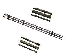 Betonbohrer 100 cm 3 tlg. SDS plus Bohrer Set 1000 mm 1 m Satz ( 12 16 24 mm )
