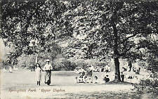 Upper Clapton. Springfield Park # 1503 by Charles Martin.