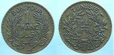 Tunesien 1 Franc 1945-1364 Al-Bro