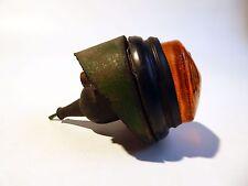 VETRO ambrato Lampada maggiordomi 1635 e la lente Classic (FORD Massey Ferguson LAND ROVER)